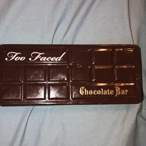 USED Too Faced Chocolate Bar Palette